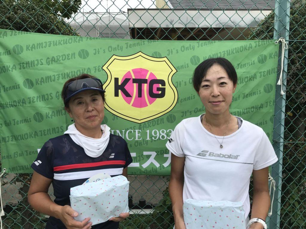 3位 金子広美・小泉美枝子組(みんなのテニス)